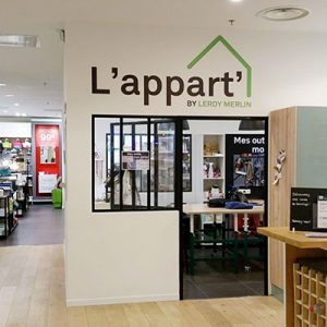 """""""L'appart"""" di Leroy Merlin a Retail Innovations 13"""
