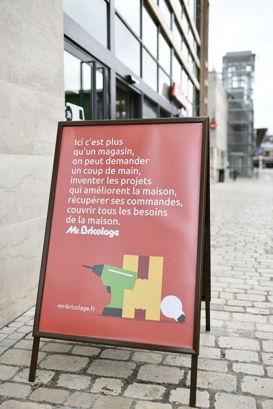 Il nuovo Mr Bricolage a Orleans (Francia)