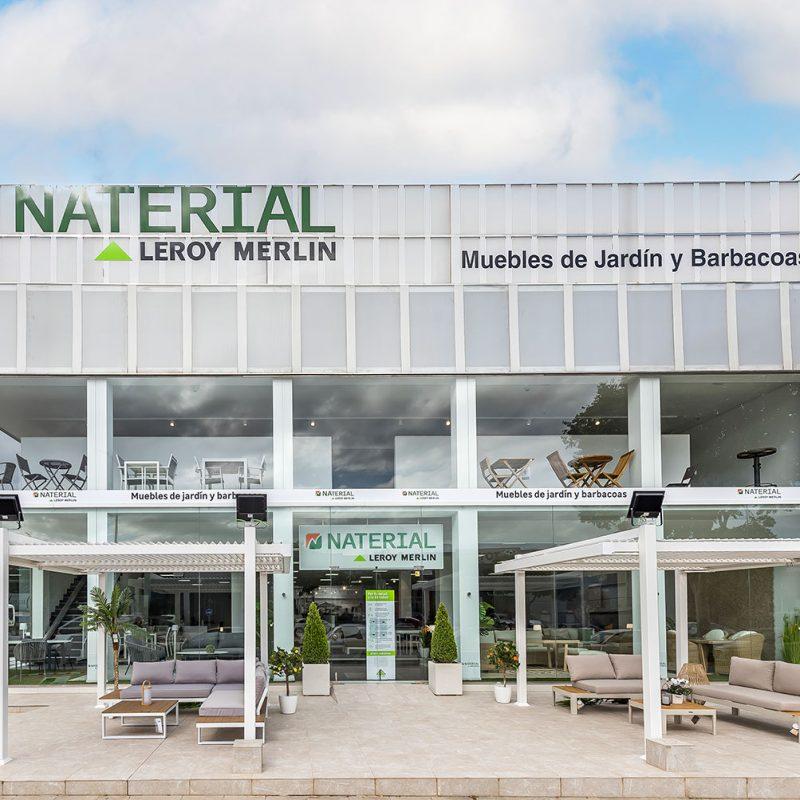 Showroom Naterial di Leroy Merlin a Palma di Maiorca (Spagna)