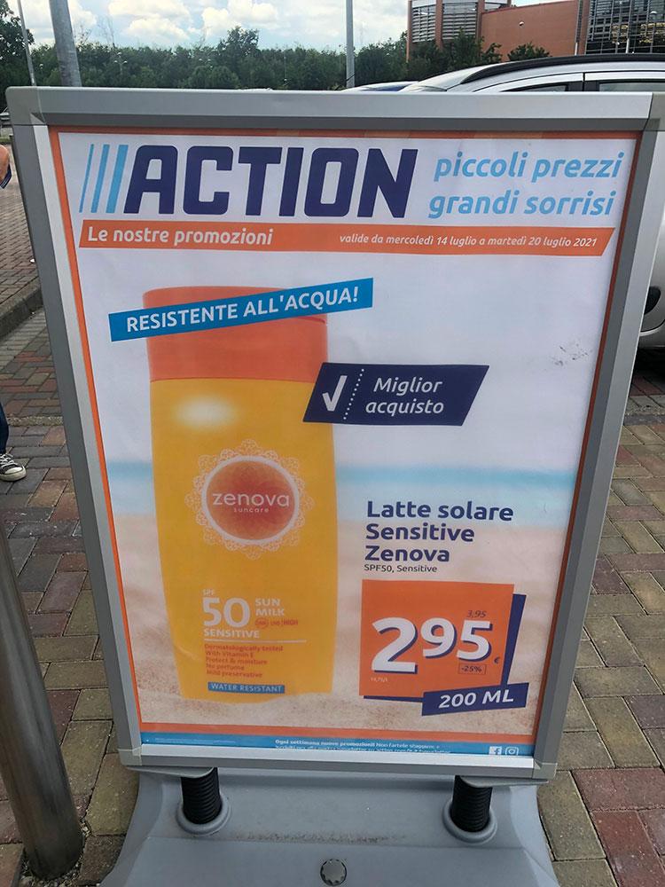 Action a Vanzaghello (MI)