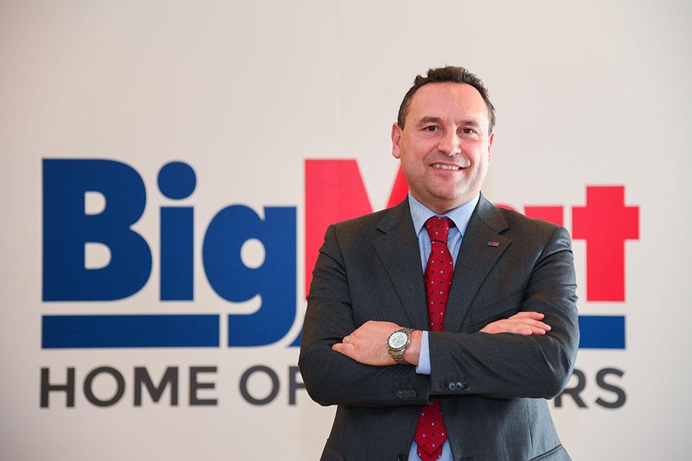 Matteo Camillini, direttore di BigMat Italia e BigMat International
