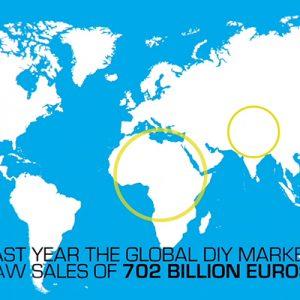 DIY nel mondo a +13,8% nel 2020