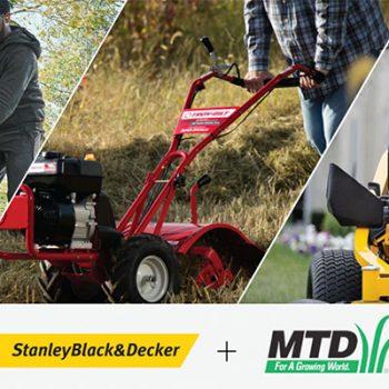 StanleyBlack&Decker acquista il 100% di MTD Holdings