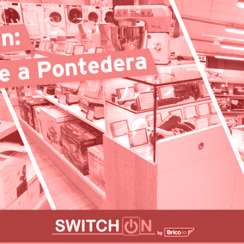 Brico io: Switch on arriva a Pontedera (PI)